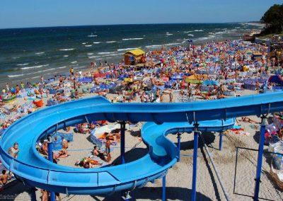 morze plaża WCZASYREMEDIOS ŁEBA