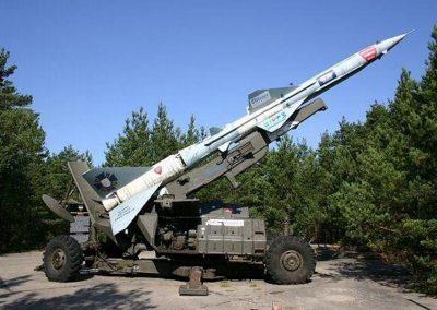 muzeum wyrzutni rakiet WCZASYREMEDIOS ŁEBA