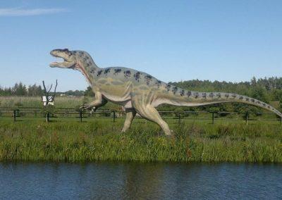 park dinozaurów WCZASYREMEDIOS ŁEBA