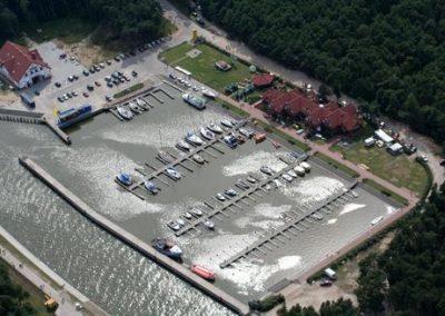 port jachtowy WCZASYREMEDIOS ŁEBA